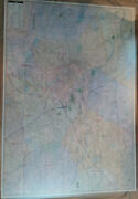 Lowell Lawrence Ma Laminated Wall Map K
