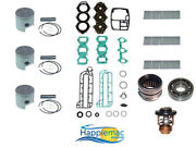 Yamaha 60-70 Hp 3 Cylinder Outboard Powerhead Rebuild Kit Piston Gasket 84-up