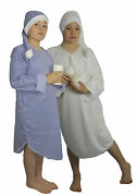 Childrens Night Gown And Hat Childs Christmas Panto Fancy Dress Book Week