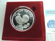 2006 Israel Chen 58th Independence Day We Love Our Land State Medal 49g Silver