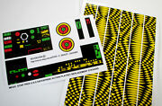 Mego Replacement Stickers For 1974 Star Trek U.s.s Enterprise Action Playset