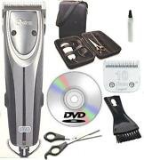 New Oster A5 Outlaw 2-speed Turbo Dog Animal Clipper Case,dvd,shears 10 Blade