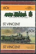 1876 Plm Class 121 2-4-2 Belle Epoque Express Train Stamps / Loco 100