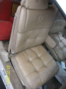 1980 Eldorado Front Seat S Oem Used Orig Beige Sand Does Have Wear Left And Right