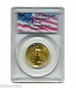 1999 Pcgs 25 Gold American Eagle Wtc Recovery 1 Of Only 17 Recovered Rare