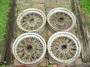Wire Wheels-416x448 Spokew/ Dishsmall Splinned Hubx/287vengland Mgace