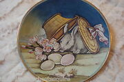 1973 Easter By Tiziano, Veneto Flair Italy Hand Etched And Painted [am15]