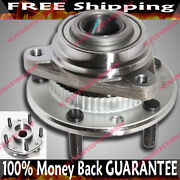 Front 5 Stud Wheel Hub Bearing Fit Chevy 94-97 S10 92-96 Blazer S10 4wd 513061