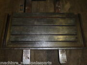 33 X 16 Steel Welding T-slotted Table Cast Iron Layout Plate T-slot Weld Jig