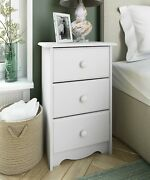 100 Solid Wood Night Stand With 3 Drawers By Palace Imports 4 Colors