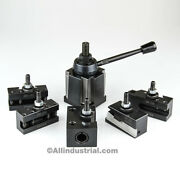 Bxa Wedge Tool Post Set Cnc High Precision Quick Change Lathe Holders 200 Series