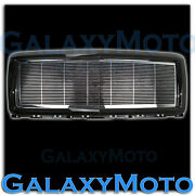 14-15 Chevy Silverado 1500 Chrome Billet Grille+gloss Black Replacement Shell