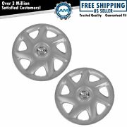 Oem Bl2e-37-170a Wheel Hub Cap Cover For 15 Inch Wheels Pair For Mazda Protege
