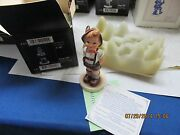 Hummel Figurine 630 For Keeps 3 1/2 With Box  Estate  Club Issue
