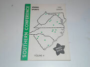 1953 Southern Conference College Baseball Golf Track Tennis Media Guide