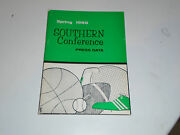 1966 Southern Conference College Baseball Golf Track Tennis Media Guide