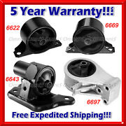 K083 Fit 99-02 Mitsubishi Mirage 1.5l Engine Motor And Trans Mount For Auto Trans