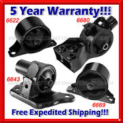 K085 Fit 97-98 Mitsubishi Mirage 1.5l Engine And Trans Mount For Auto W/p Steering