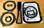 1957 Chevy Deluxe Heater Gasket Kit Complete With Blower Duct And Defroster Sleeve