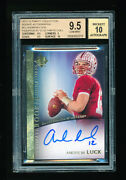 Bgs 9.5 Andrew Luck 2012 Upper Deck Ultimate Collection Auto Rc Short Print Gem