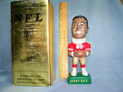 1993 Sam Jerry Rice Bobblehead San Francisco Red Jersey 49'ers 1393 Of 5000 New