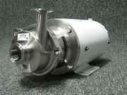 Sp41 Sanitary 3a Stainless Centrifugal Triclamp Pump For Wort Beer Wine Milk Cip