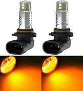 Led 20w 9005 Hb3 Orange Two Bulbs Head Light High Beam Show Replacement Halogen