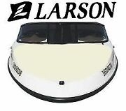 Larson Boat Canvas 176 Flyer Factory Bow Cover 0882830 Oyster Sunbrella Taylor