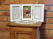 Memories Factory Andcopy Photo Picture Frame Baby Hand And Foot Print Clay Casting Kit