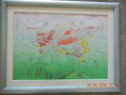 Peter Max Original Mixed Media Lithograph Signed 1982 Superb Condition