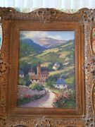 Don Langford Oil Painting 1999 194 The Lot Valley South France