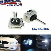 Pair D1s Hid Xenon Upgrade Bulbs 6000k 8000k 12000k For Headlights Replacement