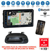 Plug-in Gps Usb Bluetooth Car Stereo+heritage Backup Camera+99-04 Ford F-series