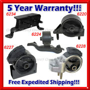 K408 Fit 1990-1992 Toyota Corolla 1.6l 2wd Auto 4 Spd, Motor And Trans Mount Set