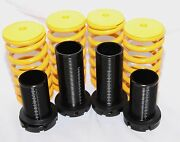 Yellow Coilover Lowering Springs Kits Fit 88-00 Honda Civic 94-01 Acura Integra