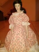 Vintage Doll With Stamp On Her Back. 1967 Mgm 1939 Selznick Ren See Photos