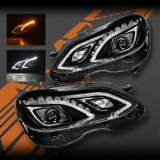 Full Led Drl Amg E63 Style Head Lights For Mercedes-benz E-class W212 2014-2016
