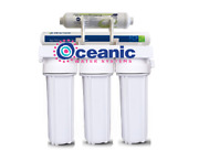 Home Reverse Osmosis Water Filter System 11 Waste/purified Ratio 75 Gpd 5 Stage