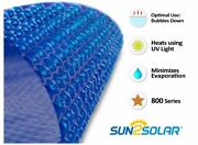 Sun2solar 24and039 Round Blue Swimming Pool Solar Heater Blanket Cover - 800 Series