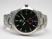 Tag Heuer Link Tiger Woods Stainless Steel Automatic Mens Watch Wj110.ba0570