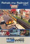 Rehab My Railroad Vol 1 Dvd Model Railroader Animation Trees How-to Video