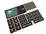 Custom Stickers For Pirates Of The Caribbean Lego 4195 Queen Anne's Revenge ++++