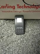 New Pair 2 Carling Actuator Rocker Switch Covers Black White Lens