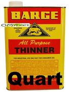 Barge Thinner For Cement Glue Leather Shoe Repair 1 Quart