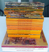 Usc Trojans Football Press Media Guide 1970 To 1994 25 Issues Complete Run
