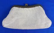 Vintage Whiting And Davis Metal Mesh Clutch Purse