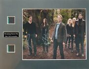 Twilight Saga - Breaking Dawn Part 2 Signed By 3 Photo Film Cell Presentation