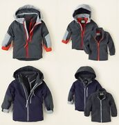Childrens Place 3 In 1 Hooded Coat And Jacket Pick Your Size And Color Nwt
