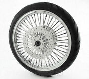 21 3.5 52 Mammoth Fat Spoke Front Wheel 120/70-21 Tire 08-20 Harley Touring Abs