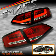 Clear Red 3d Led Tail Lights For Audi A4 B8 Sedan Replace Stock Non Led Lights